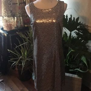 WHBM sequined Dress NWT